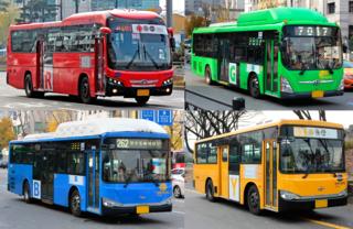 Seoul Buses Buses in Seoul
