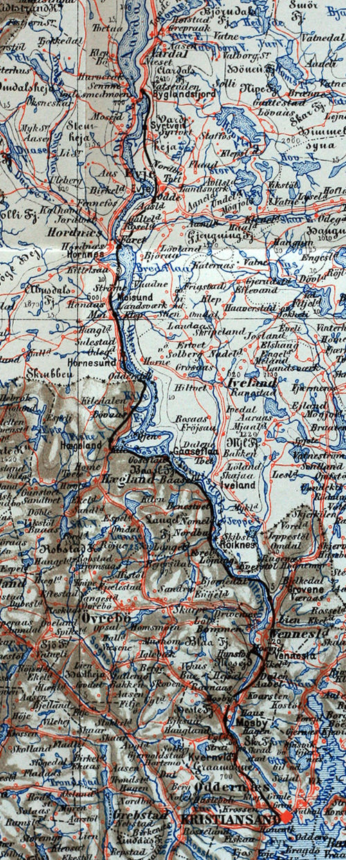 setesdalsbanen kart Setesdal Line   Wikipedia setesdalsbanen kart