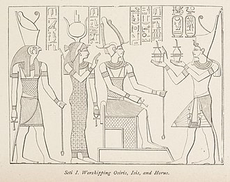Tree of life - Worshipping Osiris, Isis, and Horus