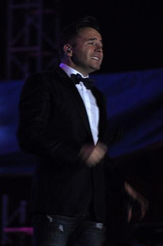 Shane Filan - Filan performing during the Vietnam concert date of Gravity Tour in 2011