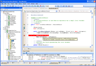 SharpDevelop - Image: Sharp Develop