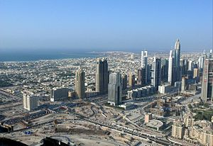 Trade Centre 2 - Image: Sheikh Zayed Road on 27 November 2007 Pict 2
