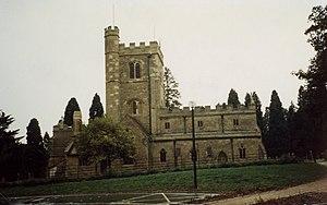 Shenley Church End - Image: Shenley, Church End geograph.org.uk 149262