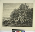 Shepherd and girl with flock of sheep (NYPL Hades-575122-1227170).tiff