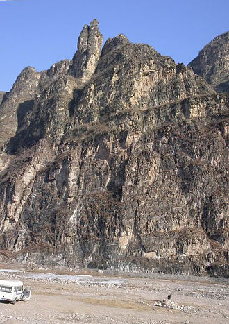 Fangshan District - The rugged karst landscape at Shidu.