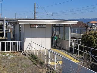 Shimoji Station Railway station in Toyohashi, Aichi Prefecture, Japan