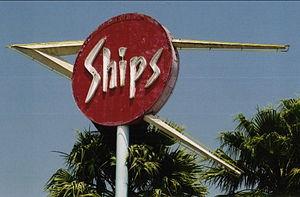 Martin Stern Jr. - Ship's Coffee Shop sign