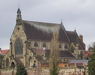 Shrewsbury Cathedral Church in Shropshire, England