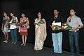 "Shri Rahul Bose, along with Shri Anirudh Roychowdhury, Ms. Mita Vasisht, Ms Radhika Apte at the presentation of the film ""Antaheen"" during the 40th International Film Festival (IFFI-2009), at Panaji, Goa on November 28, 2009.jpg"
