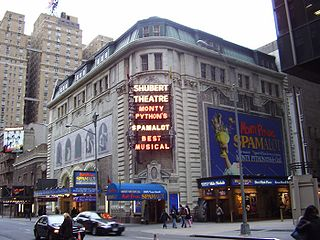 Broadway theater in New York City, USA