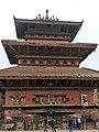 Siddhi Laxmi Devi in Bhaktapur Durbar Square.jpg