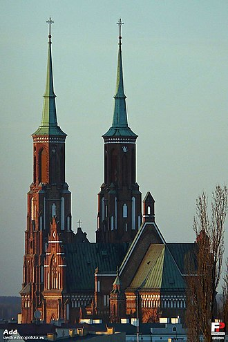 Siedlce - Image: Siedlce, Katedra Niepokalanego Poczęcia NMP fotopolska.eu (202255)