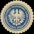 Siegelmarke Einkommensteuer-Veranlagungs-Kommission Kreis Düren W0345917.jpg