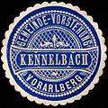 Siegelmarke Gemeinde-Vorstehung Kennelbach - Vorarlberg W0261578.jpg