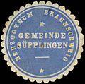 Siegelmarke H. Braunschweig Gemeinde Süpplingen W0380659.jpg