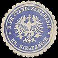 Siegelmarke K.Pr. Standesamt Ranis Kreis Ziegenrück W0360496.jpg