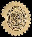 Siegelmarke Magistrat des Marktes Ergoldsbach-Bayern W0310164.jpg