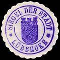Siegelmarke Siegel der Stadt - Lübbecke W0229339.jpg