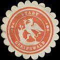 Siegelmarke Stadt Greifswald W0342479.jpg