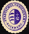 Siegelmarke Stadtschulheissenamt - Backnang W0229273.jpg