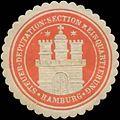 Siegelmarke Steuer-Deputation Section zur Einquartierung W0393110.jpg
