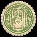 Siegelmarke Universitäts Bibliothek zu Leipzig W0251968.jpg