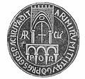 Sigillo del Duca Orso (X secolo), Rimini.JPG