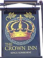 Sign for the Crown Inn, King's Somborne - geograph.org.uk - 889664.jpg
