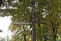 Signpost, Miners Welfare Park, Bedworth - geograph.org.uk - 583193.jpg