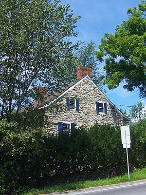 Gardnertown, New York - House built by Silas Gardner in mid-18th century, before American Revolution.