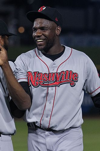 Simón Castro - Castro celebrating after pitching the final inning of a combined no-hitter with Nashville in 2017