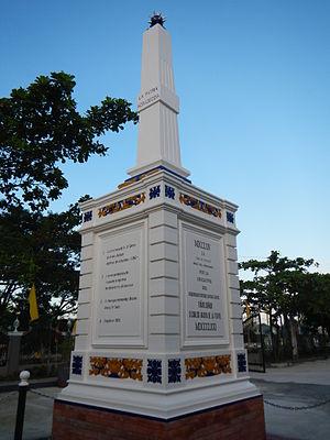 Bacolor, Pampanga - Monument to Simón de Anda y Salazar in Bacolor