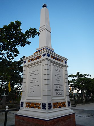 Bacolor, Pampanga - Monument to Simón de Anda y Salazar in Bacolor