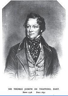 Thomas de Trafford British Baronet