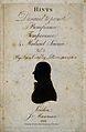 Sir William Blizard. Silhouette, 1801. Wellcome V0000595.jpg