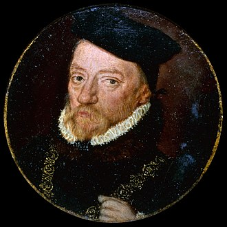 William Paulet, 1st Marquess of Winchester - Portrait Miniature, c. 1555