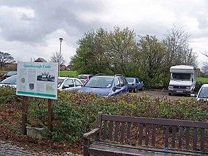 Queenborough Castle - The castle site is a public park and car park: Castle Green.