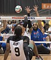 Sitting volleyball at the 2017 Warrior Games (preliminaries) 35267512020 1c0d05d243 b.jpg