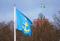 Sjöfartsverket, Södra Dyrehaven, flagga.jpg