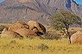Skály nedaleko Brandberg White Lady Lodge - Namibie - panoramio (1).jpg