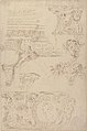 Sketches of Sculptured Decoration. Entablatures and a Frieze with Human, Animal and Floral Ornaments MET 49.50.142.jpg
