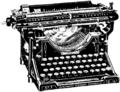 Skrifmaskin, Underwood-maskin, Nordisk familjebok.png