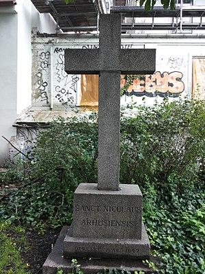 St. Oluf's Cemetery - Image: Skt Olufs Kirkegård, cross