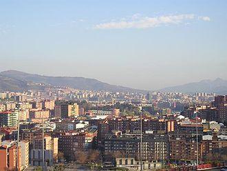 Basurto-Zorroza - Image: Skyline bilbao