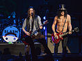 Slash with Myles Kennedy on guitar live at Brixton Academy 2012-10-12.jpg