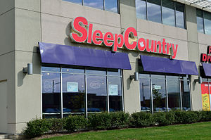 Sleep Country Canada - A Sleep Country store in Markham, Ontario