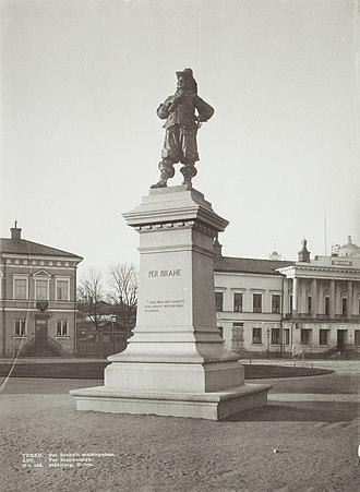 Per Brahe Statue - Image: Slsa 1070 21 20