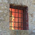 Small Window on the side of the Chapelle de Notre Dame-du-Brusc in Châteauneuf-Grasse France.jpg