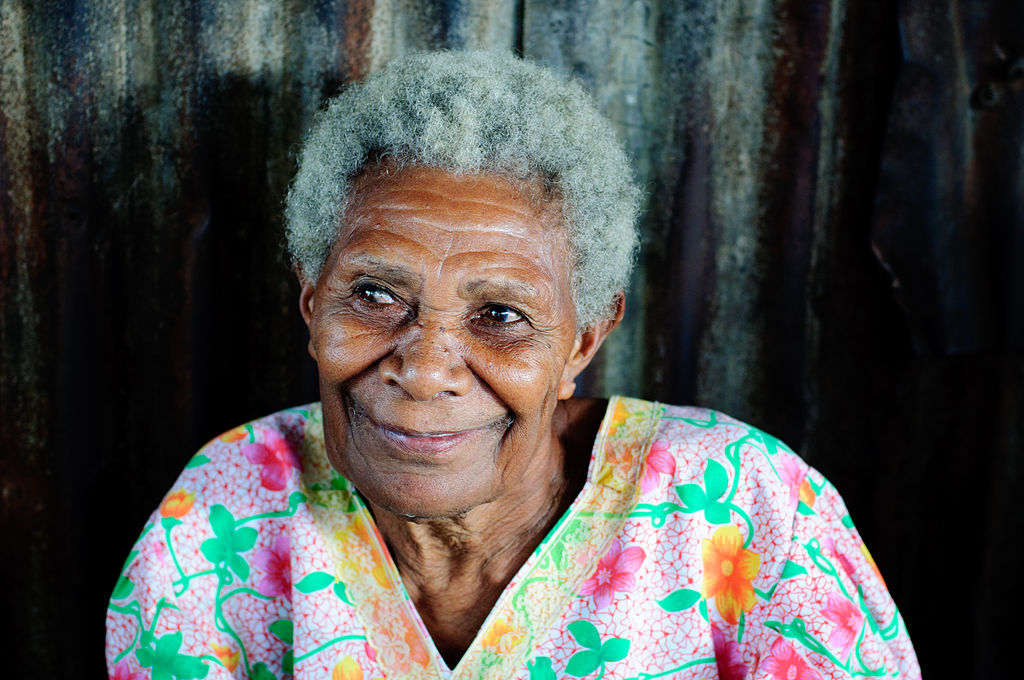 Smiling Old Woman (Imagicity 1180)
