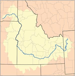 Fruitland, Idaho - Snake River watershed.